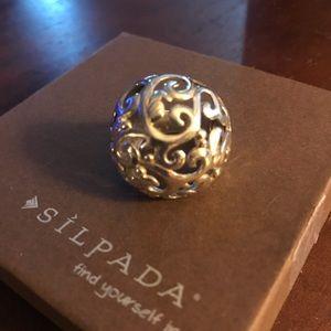 Silpada Ring large
